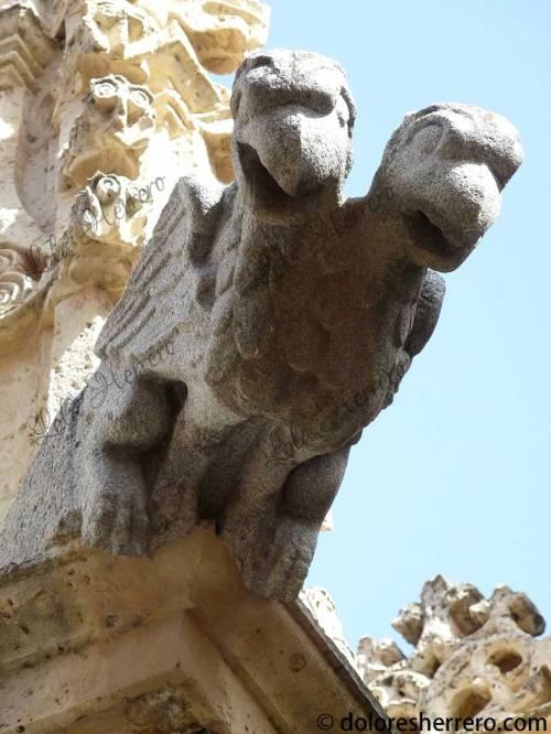 gárgola catedral medieval