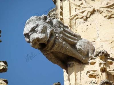 Gárgola de la Catedral de Segovia