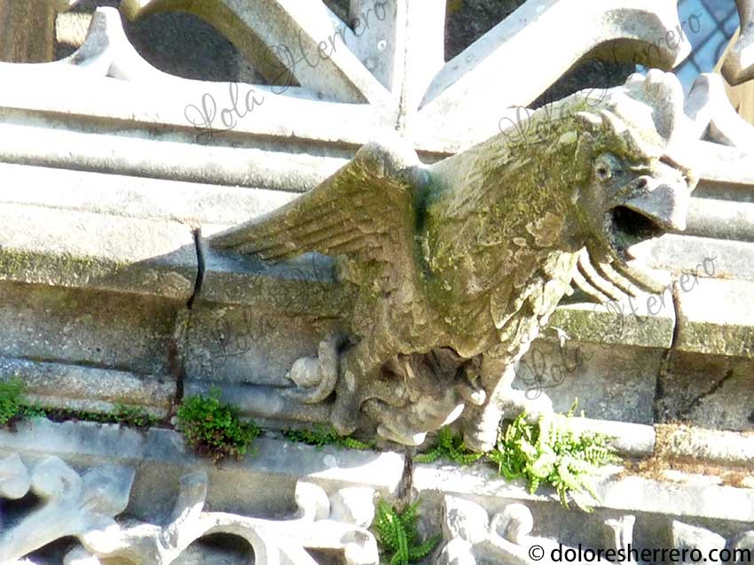 gárgola águila simbología