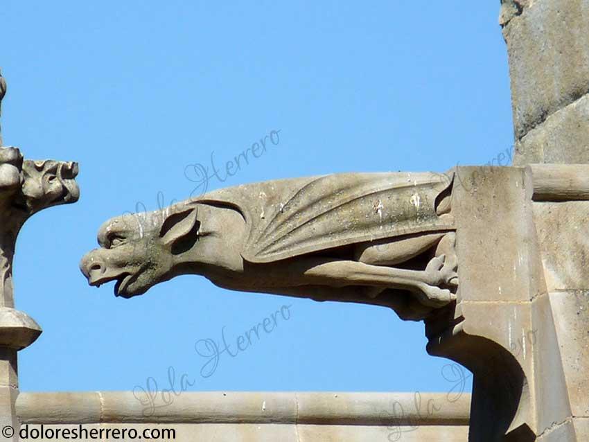 gárgolas de Carcassonne