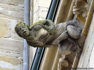 Gárgola de la Iglesia de Nuestra Señora de Tréveris (Alemania)