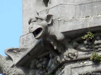 Gárgola del Palacio Provincial de Brujas (Bélgica)