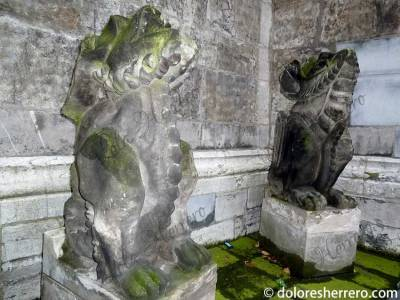 Gárgolas del Museo Catedral de Aquisgrán (Alemania)