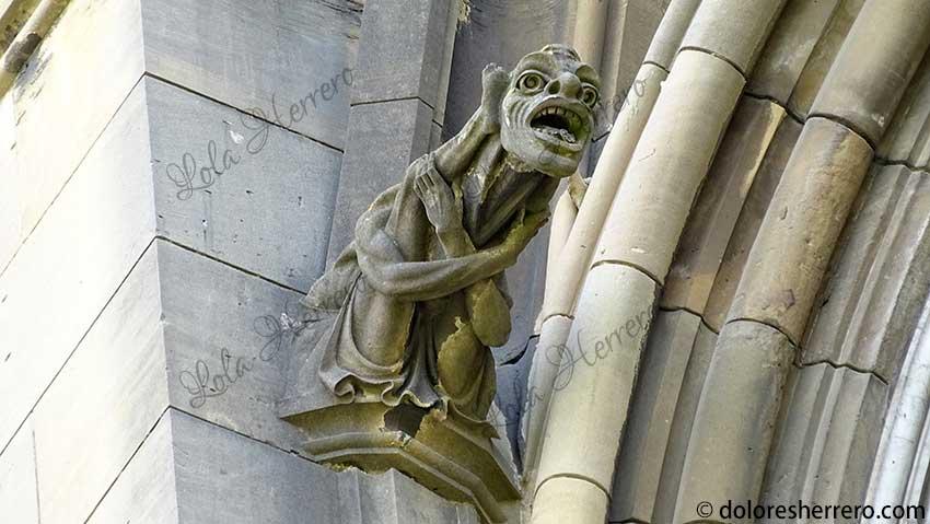 gárgolas grotescos arte