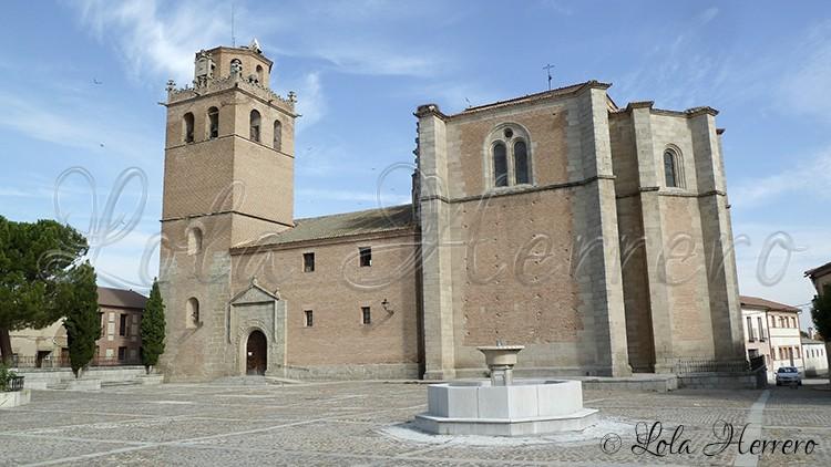 Gargoyles in Martín Muñoz de las Posadas