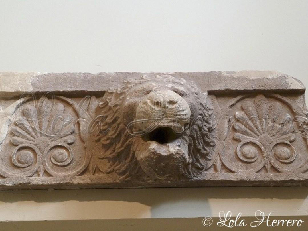 Gárgola Museo Arq. Nac. Atenas (Grecia) 233