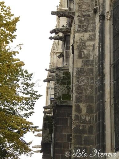 Gárgolas de la Catedral de Burdeos (Francia)