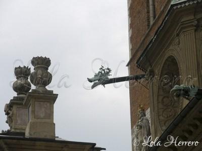 Gárgola de la Catedral de Wawel de Cracovia (Polonia)