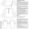kleinformat Shukujo technische Zeichnung