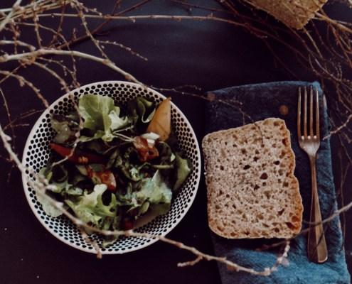Wintersalat m. Brot