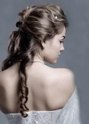 peinados de pelo suelto para fiestas