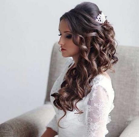 Peinados para boda de dia cabello largo