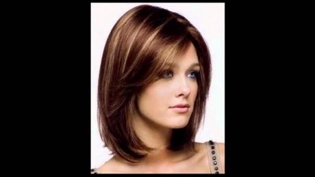 cortes pelo modernos simetricos dark brown hairs