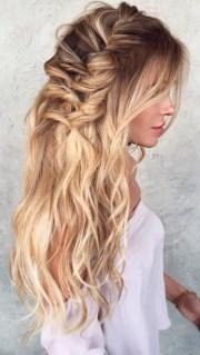 peinados lindos cabello suelto