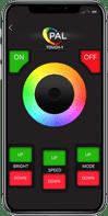 evenglow pool light phone app