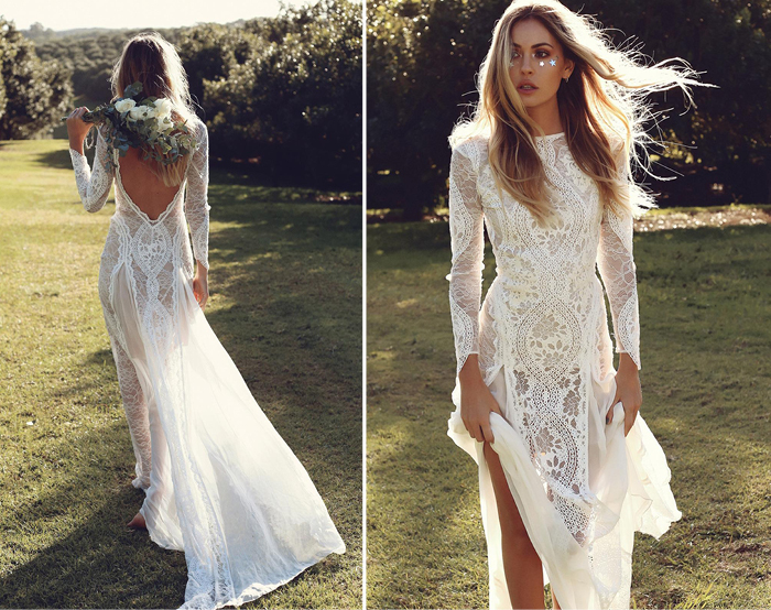 Long Sleeve Wedding Dresses For Winter Brides