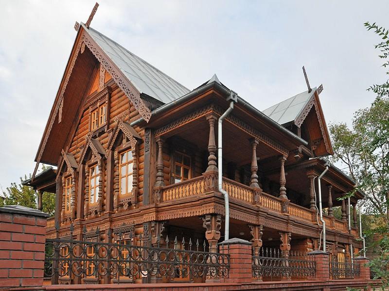 Дом в стиле русской усадьбы проект. Дома в русском стиле необычны и красивы снаружи