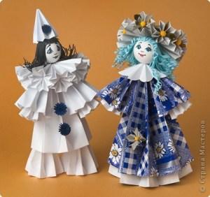 куклы-оригами