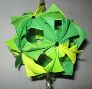 шар-оригами 3