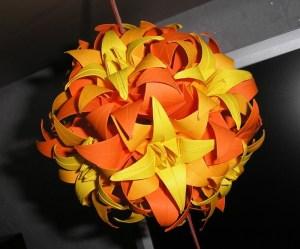 шар- оригами