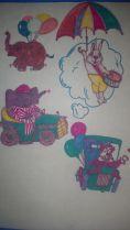 Зайчик, слон и клоун