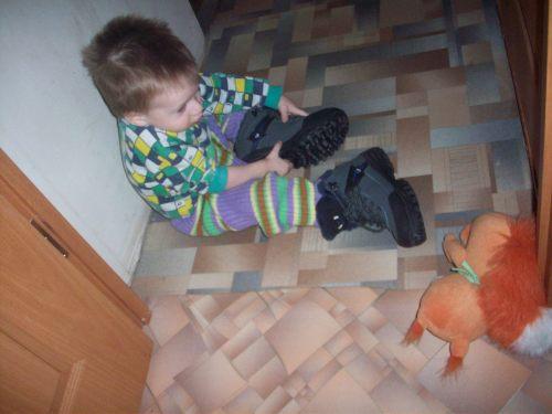 Брата ботинки мерит