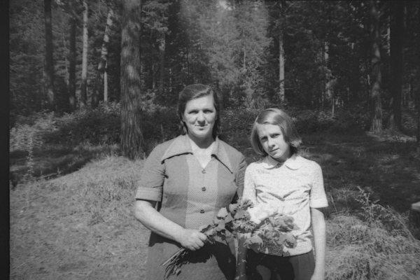 Я с мамой, 1980 г.