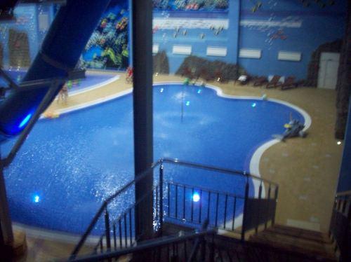 Малый бассейн и вдали волновой