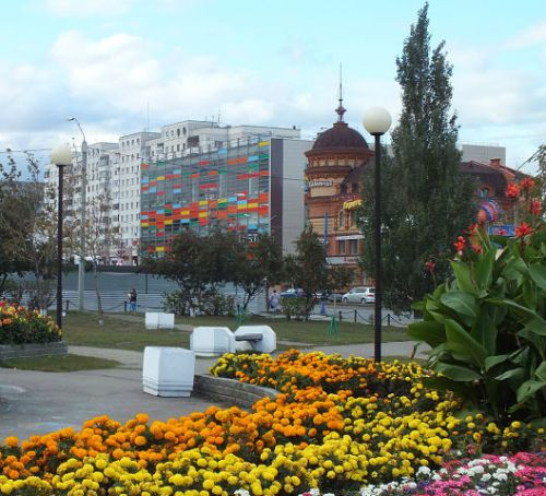 Сквер Барнаула