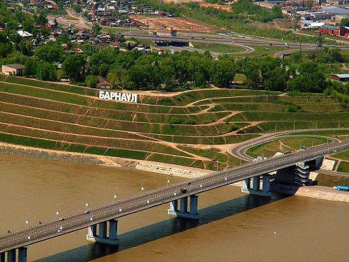 Барнаул летом