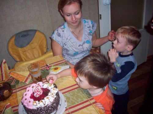 Именинный торт