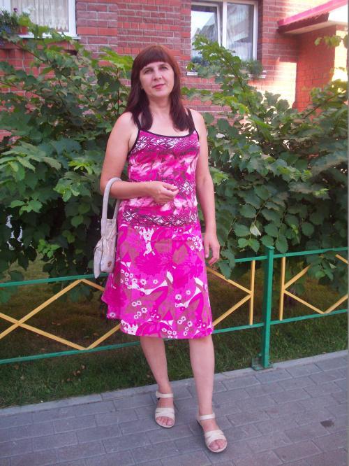 Юбка розовая укороченная