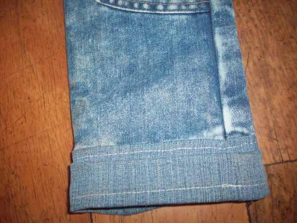 Заворот джинс