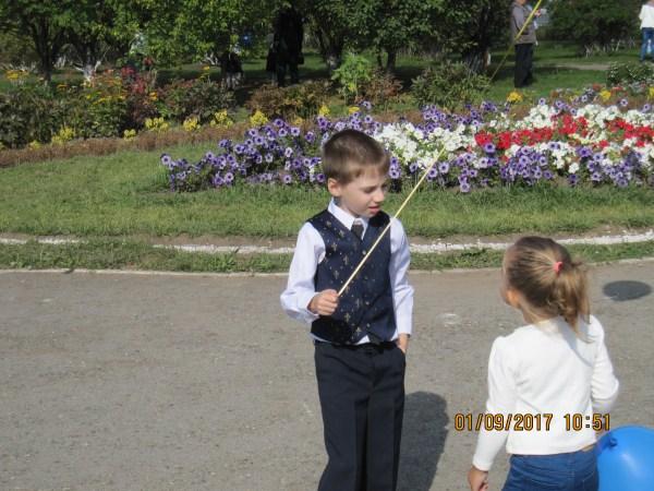 Егор с девочкой