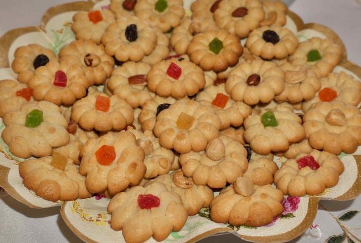 Вкусное песочное печенье на сметане фото