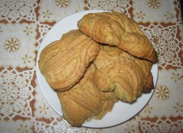 Рецепт песочного печенья на маргарине через мясорубку фото