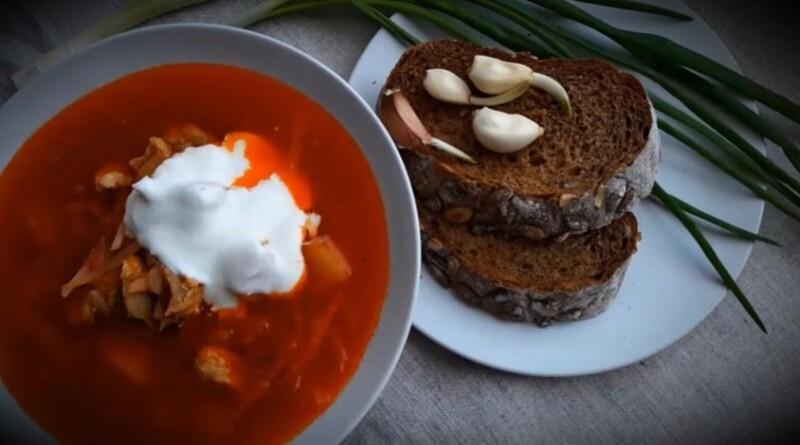 Нағыз украиндық борщ - ең дәмді рецепт