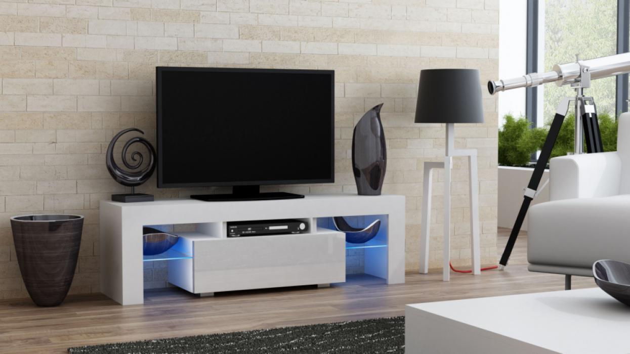 Small White Tv Cabinet Novocom Top