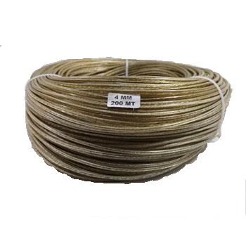 cablu din otel cu invelis PVC domadi goold