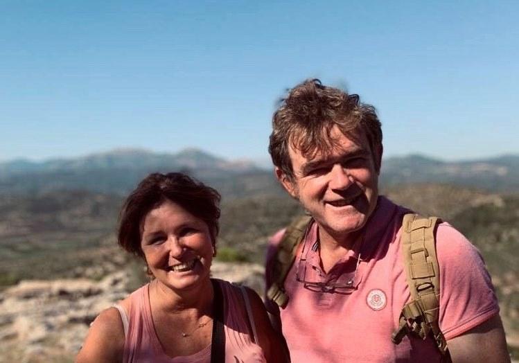 Le vigneron et son épouse