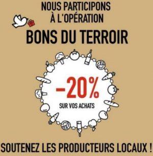 Bons du Terroir : 20% sur tous vos achats de vin… Venez voir la marche à suivre