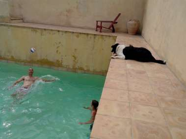 Photos - Volley dans la piscine du Viala
