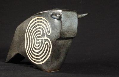 Photos - Céramique taureau - Thalia Reventlow