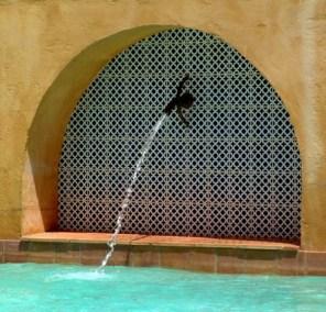Photos - La fontaine de la piscine du Viala