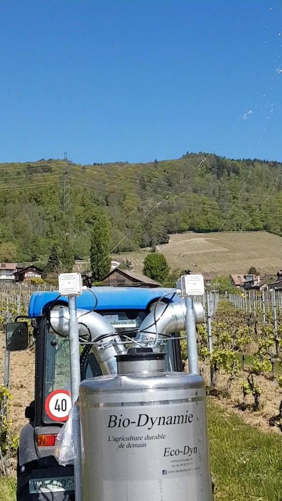 pulvérisateur vigne biodynamie