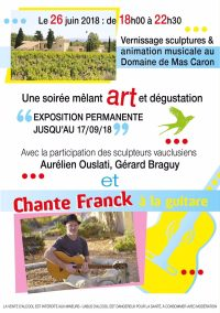 Vernissage, Sculptures, Monumentales, Animation, Musicuale