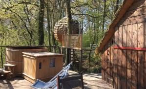 Domaine des Vaulx spa et cabane lov nid