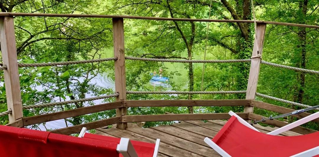 cabane Shanghaï vu relaxante