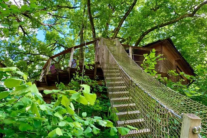 Cabane New-York dans les arbres