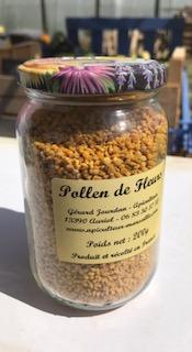 Pot de pollen de fleurs